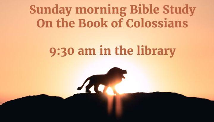 Study on Colossians
