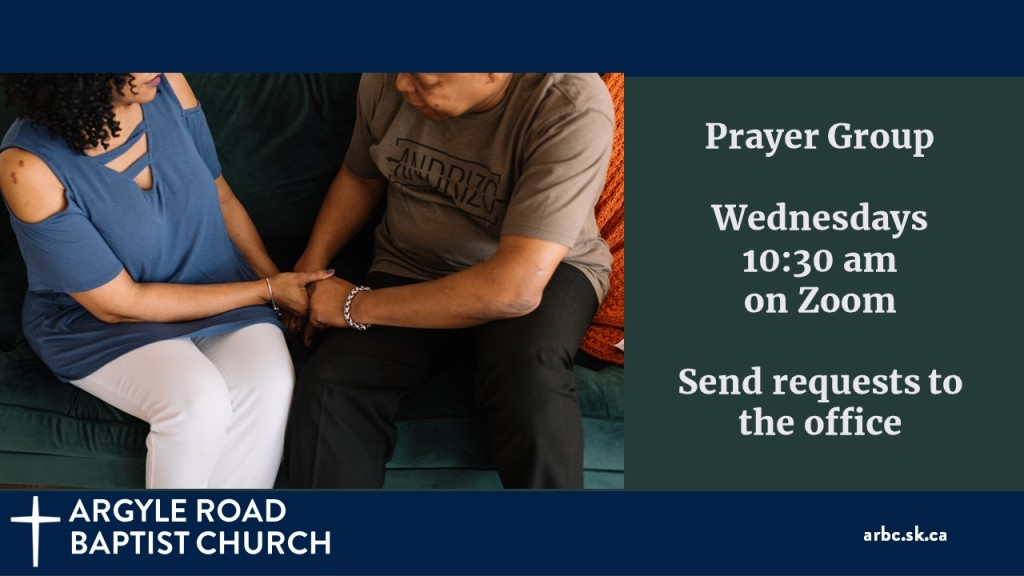 The Prayer Team meets Wednesday mornings on zoom to pray for our church, our community, and the wider world. If you would like them to pray for a concern of yours, please let the office know.